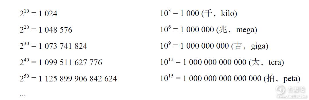 计算机扫盲贴|第二章_比特、字节与信息表示 QQ截图20170113210436.png