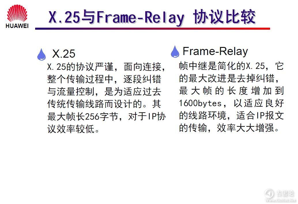 网络工程师之路_第一章|网络基础知识 29-X.25 与 Frame-Relay 的比较.jpg