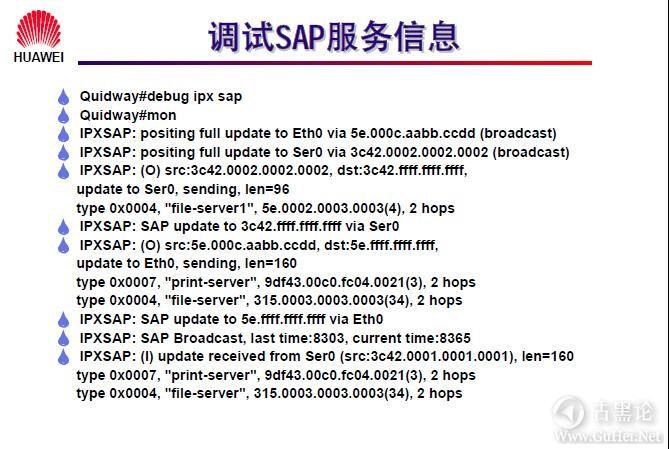 网络工程师之路_第八章|IPX协议及配置 20-调试 SAP 服务信息.jpg