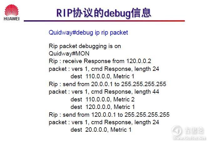 网络工程师之路_第十章|路由协议 31-RIP 协议的 debug 信息.jpg