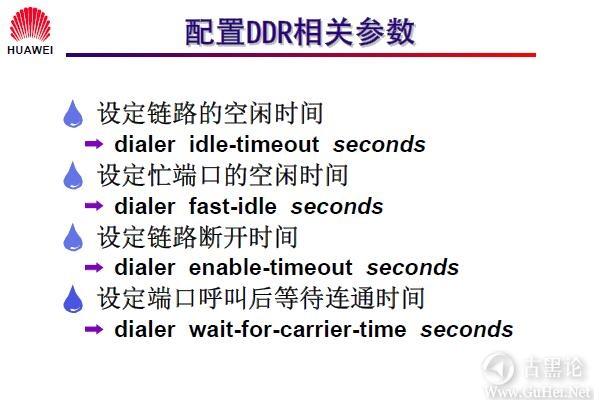 网络工程师之路_第十二章|DDR、ISDN配置 21-配置 DDR 相关参数.jpg