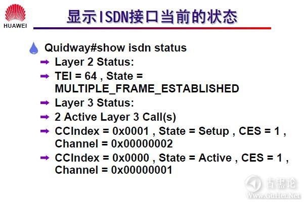 网络工程师之路_第十二章|DDR、ISDN配置 45-显示 ISDN 接口当前的状态.jpg