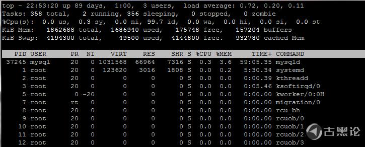 零基础Linux|第十六课_系统负载和进程管理 2-top命令.png