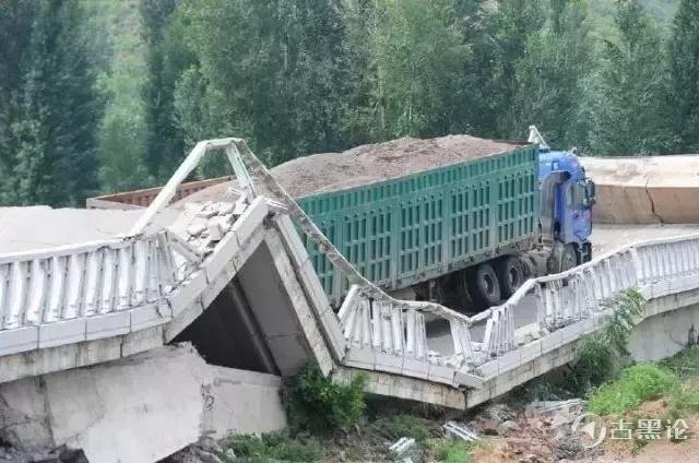 哪种大货车是超级重/危险的? 5-泥头车ko白河桥.jpg