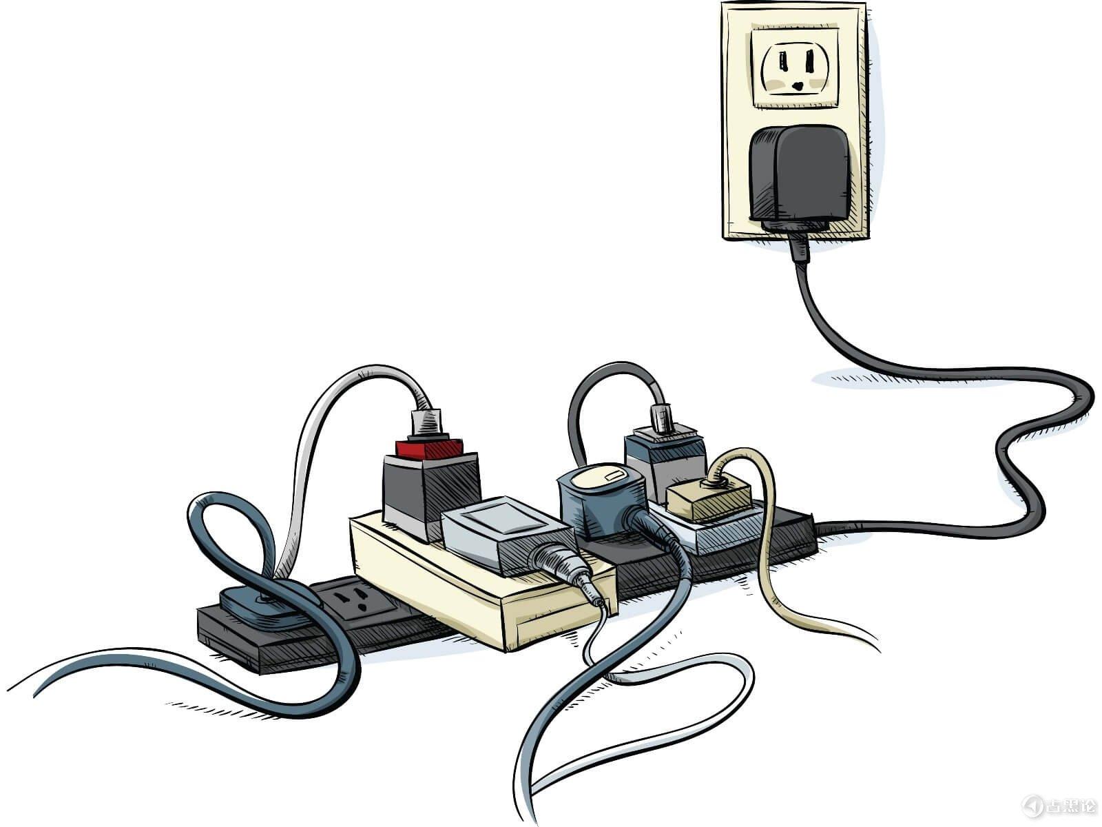 如何发现隐藏的摄像头和间谍设备 5-plugs_1_.jpg