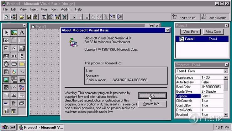 Visual Basic永远29岁 微软宣布不再发展VB语言 1.jpg
