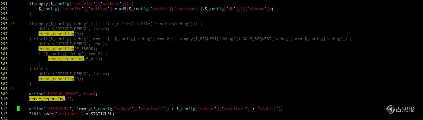 Discuz 开启 PHP 报错提示 TIM截图20200518192959.jpg